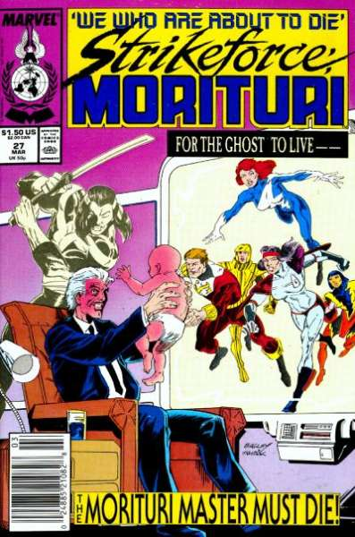 Strikeforce: Morituri #27 Comic Books - Covers, Scans, Photos  in Strikeforce: Morituri Comic Books - Covers, Scans, Gallery