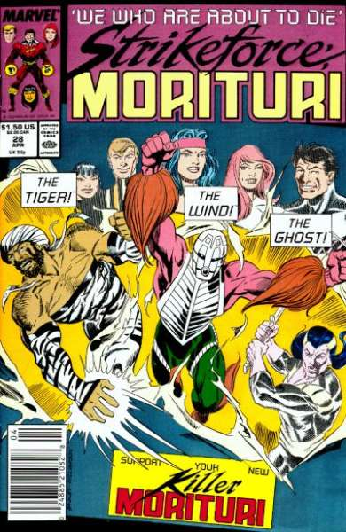 Strikeforce: Morituri #28 Comic Books - Covers, Scans, Photos  in Strikeforce: Morituri Comic Books - Covers, Scans, Gallery