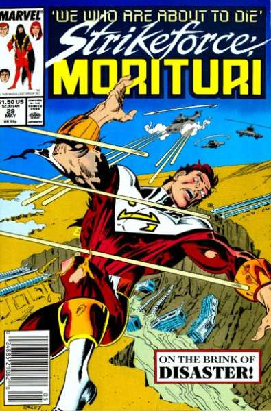 Strikeforce: Morituri #29 Comic Books - Covers, Scans, Photos  in Strikeforce: Morituri Comic Books - Covers, Scans, Gallery