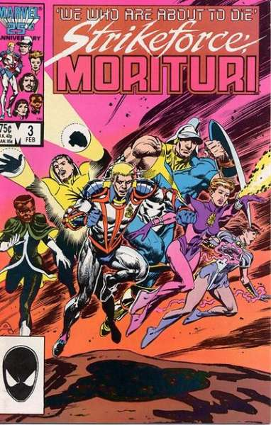 Strikeforce: Morituri #3 comic books for sale