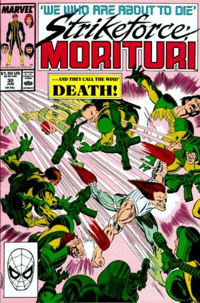 Strikeforce: Morituri #30 Comic Books - Covers, Scans, Photos  in Strikeforce: Morituri Comic Books - Covers, Scans, Gallery