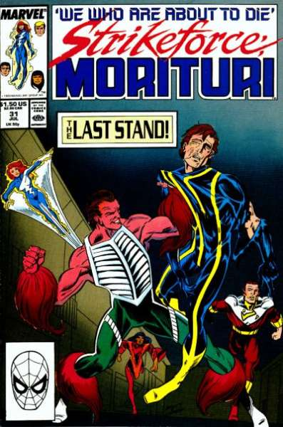 Strikeforce: Morituri #31 Comic Books - Covers, Scans, Photos  in Strikeforce: Morituri Comic Books - Covers, Scans, Gallery