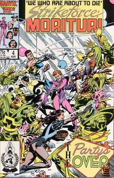 Strikeforce: Morituri #4 comic books for sale