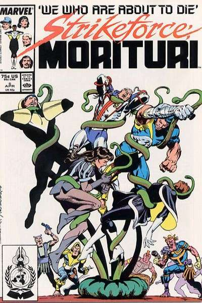 Strikeforce: Morituri #5 comic books for sale