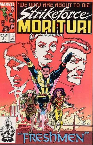 Strikeforce: Morituri #8 comic books for sale