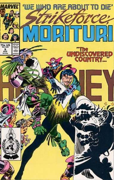 Strikeforce: Morituri #9 comic books for sale
