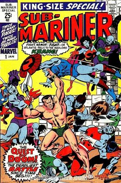 Sub-Mariner #1 comic books for sale