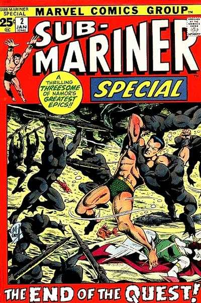 Sub-Mariner #2 comic books - cover scans photos Sub-Mariner #2 comic books - covers, picture gallery