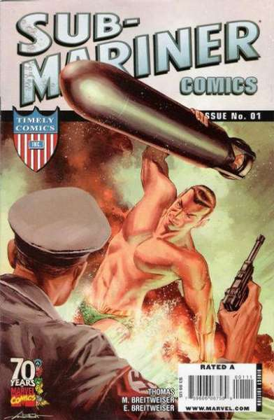 Sub-Mariner Comics 70th Anniversary Special #1 comic books - cover scans photos Sub-Mariner Comics 70th Anniversary Special #1 comic books - covers, picture gallery