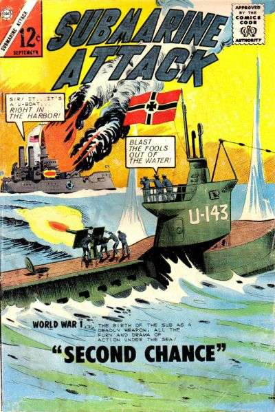 Submarine Attack #46 comic books for sale