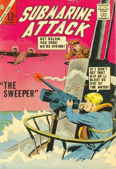 Submarine Attack #47 comic books for sale