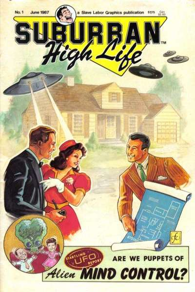 Suburban High Life comic books