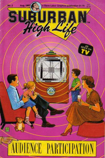 Suburban High Life #2 comic books - cover scans photos Suburban High Life #2 comic books - covers, picture gallery