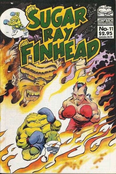 Sugar Ray Finhead comic books