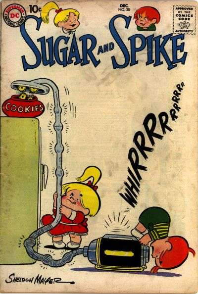 Sugar & Spike #20 Comic Books - Covers, Scans, Photos  in Sugar & Spike Comic Books - Covers, Scans, Gallery