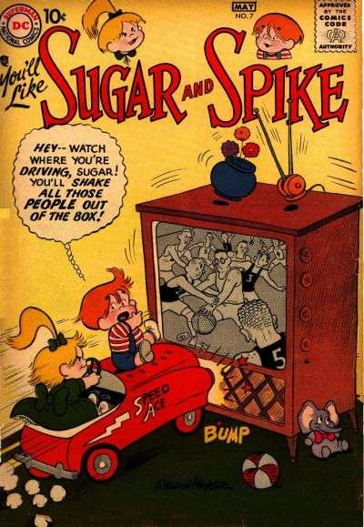 Sugar & Spike #7 Comic Books - Covers, Scans, Photos  in Sugar & Spike Comic Books - Covers, Scans, Gallery