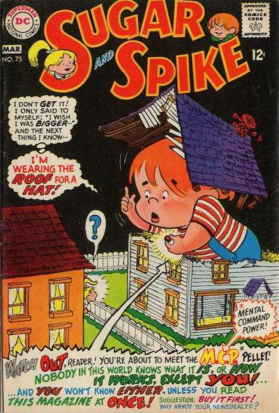 Sugar & Spike #75 comic books for sale