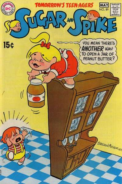 Sugar & Spike #89 comic books for sale