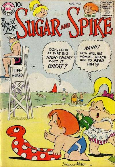 Sugar & Spike #9 Comic Books - Covers, Scans, Photos  in Sugar & Spike Comic Books - Covers, Scans, Gallery