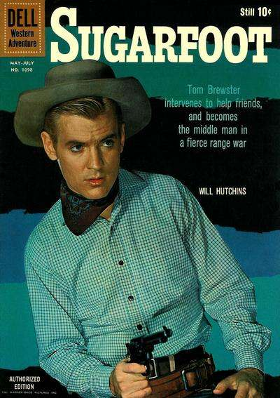 Sugarfoot #8 comic books - cover scans photos Sugarfoot #8 comic books - covers, picture gallery