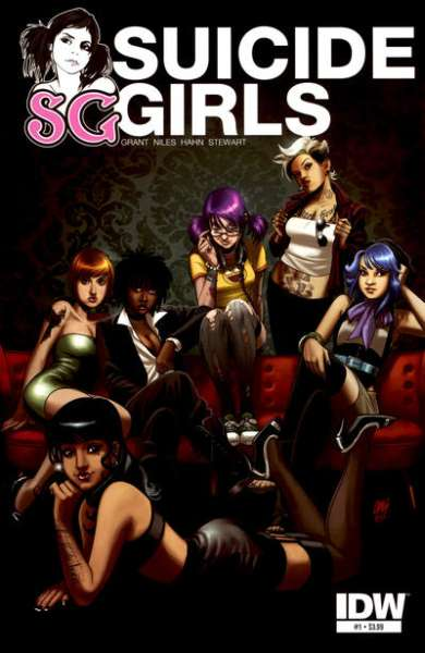 Suicide Girls comic books