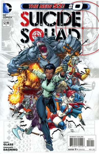 Suicide Squad #0 comic books - cover scans photos Suicide Squad #0 comic books - covers, picture gallery