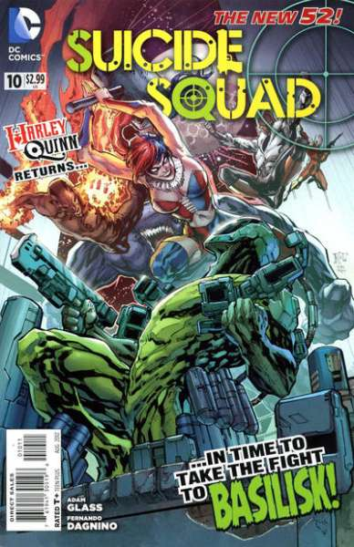 Suicide Squad #10 Comic Books - Covers, Scans, Photos  in Suicide Squad Comic Books - Covers, Scans, Gallery
