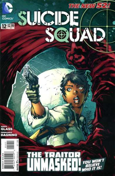 Suicide Squad #12 comic books - cover scans photos Suicide Squad #12 comic books - covers, picture gallery