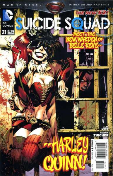 Suicide Squad #21 comic books - cover scans photos Suicide Squad #21 comic books - covers, picture gallery