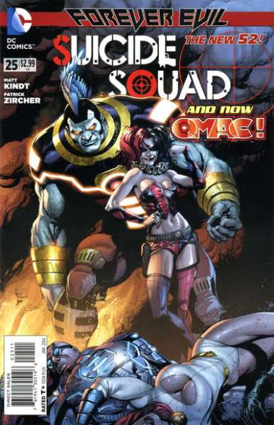 Suicide Squad #25 comic books - cover scans photos Suicide Squad #25 comic books - covers, picture gallery
