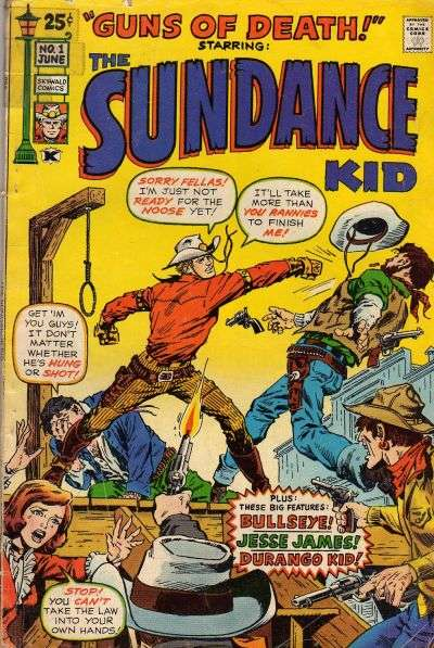 Sundance Kid Comic Books. Sundance Kid Comics.