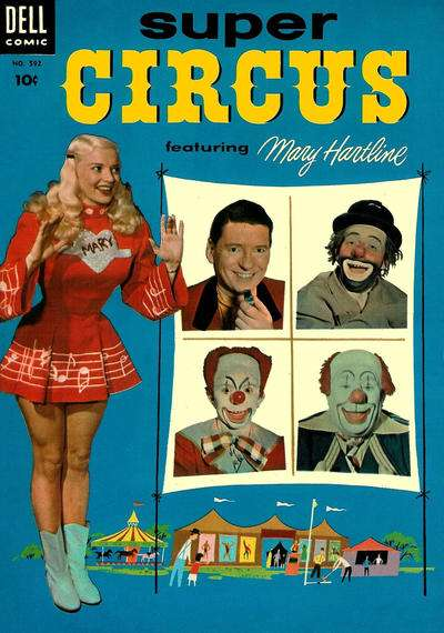 Super Circus #2 comic books - cover scans photos Super Circus #2 comic books - covers, picture gallery