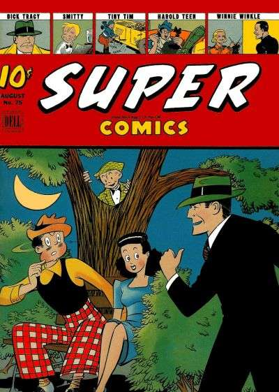 Super Comics #75 Comic Books - Covers, Scans, Photos  in Super Comics Comic Books - Covers, Scans, Gallery