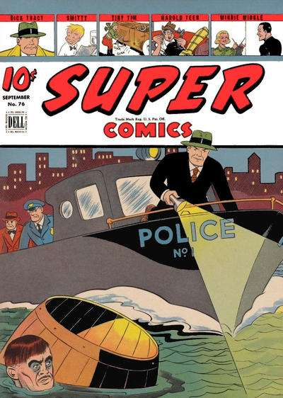 Super Comics #76 Comic Books - Covers, Scans, Photos  in Super Comics Comic Books - Covers, Scans, Gallery