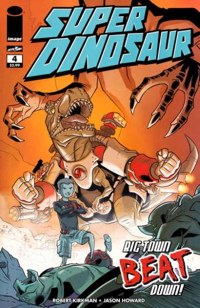 Super Dinosaur #4 comic books for sale