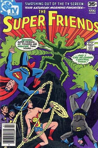 Super Friends #12 Comic Books - Covers, Scans, Photos  in Super Friends Comic Books - Covers, Scans, Gallery