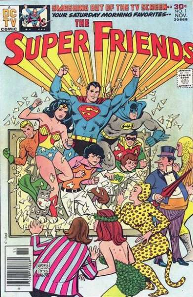 Super Friends comic books