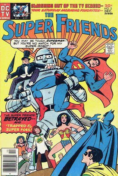 Super Friends #2 Comic Books - Covers, Scans, Photos  in Super Friends Comic Books - Covers, Scans, Gallery