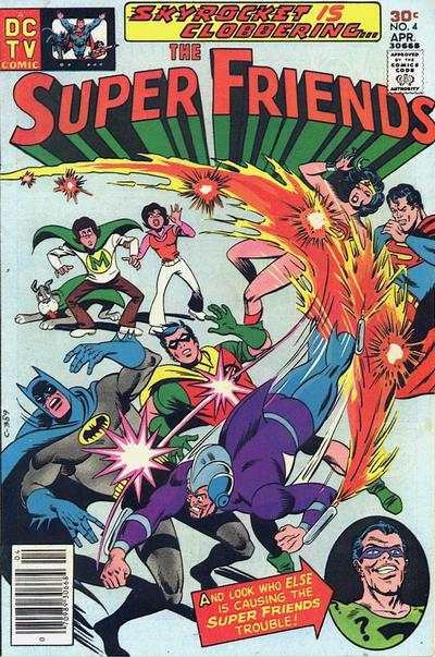 Super Friends #4 Comic Books - Covers, Scans, Photos  in Super Friends Comic Books - Covers, Scans, Gallery
