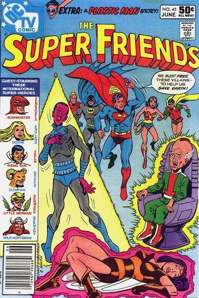 Super Friends #45 Comic Books - Covers, Scans, Photos  in Super Friends Comic Books - Covers, Scans, Gallery