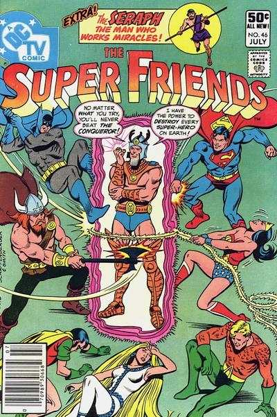 Super Friends #46 comic books for sale