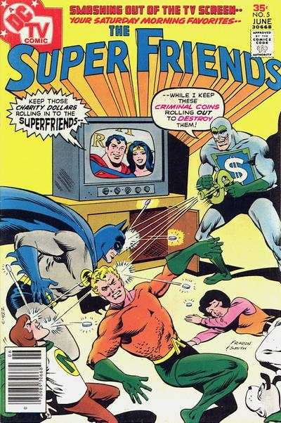 Super Friends #5 comic books for sale