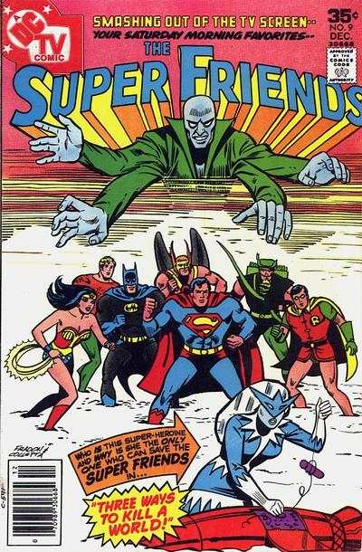 Super Friends #9 comic books for sale