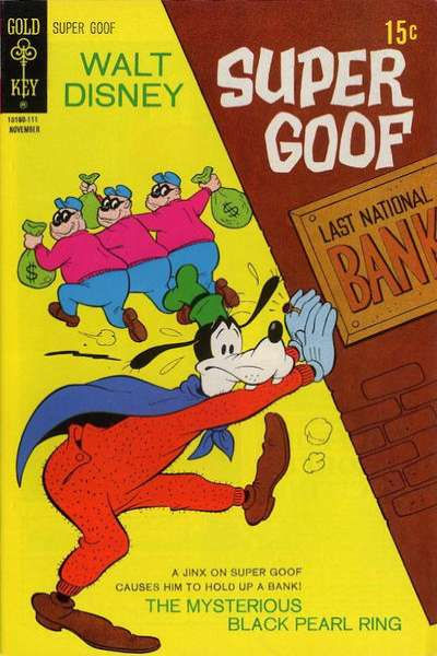 Super Goof #19 comic books - cover scans photos Super Goof #19 comic books - covers, picture gallery