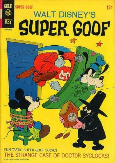 Super Goof #2 Comic Books - Covers, Scans, Photos  in Super Goof Comic Books - Covers, Scans, Gallery
