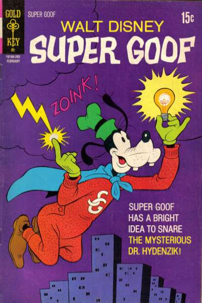 Super Goof #20 comic books for sale