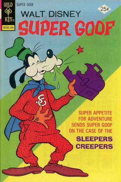 Super Goof #34 Comic Books - Covers, Scans, Photos  in Super Goof Comic Books - Covers, Scans, Gallery