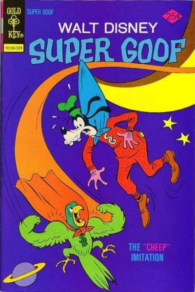 Super Goof #35 comic books for sale