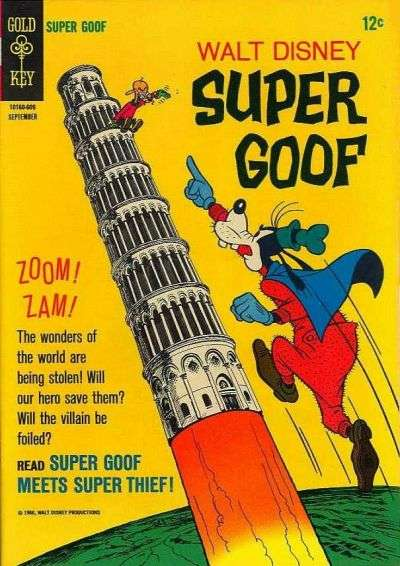 Super Goof #4 comic books - cover scans photos Super Goof #4 comic books - covers, picture gallery