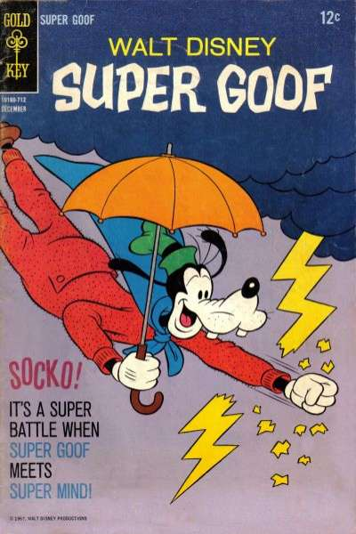 Super Goof #9 Comic Books - Covers, Scans, Photos  in Super Goof Comic Books - Covers, Scans, Gallery